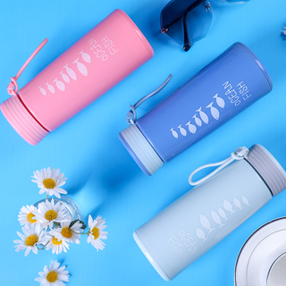Wholesale BPA Free Crystal Borosilicate Glass Water Bottles