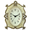 Enamel with Crystal Simple Tabletop Clock Design