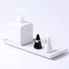 Cream Colorful Fashionable Ring Cone Holder Display Jewelry Ceramic Gift
