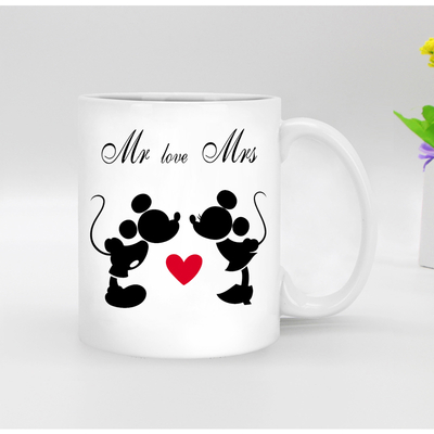 Funny Mickey Mouse Sublimation Coffee Mug