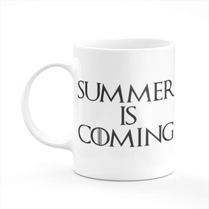 Summer Is Coming Coffee Tea Mug Gift Printing Sublimation Mug