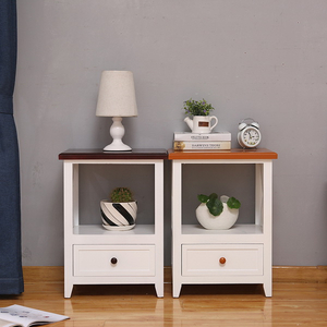 Made in China corner wooden storage cabinet with door and drawer