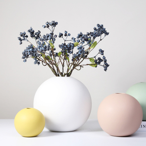 nice design ceramic flower vase for the home or garden decoration