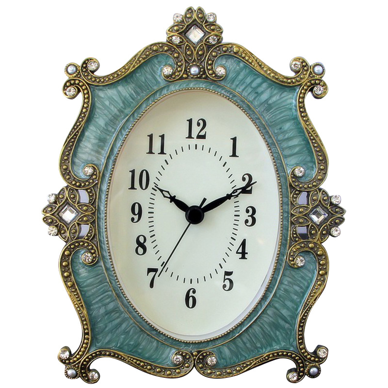 Zinc Alloy Table Clock