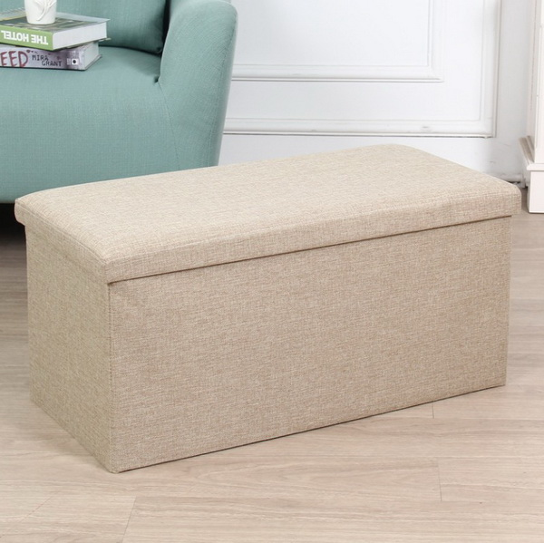 Home Stool&Ottoman Specific Use and Modern Appearance storage stool